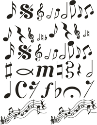 Music Note Variety Pack